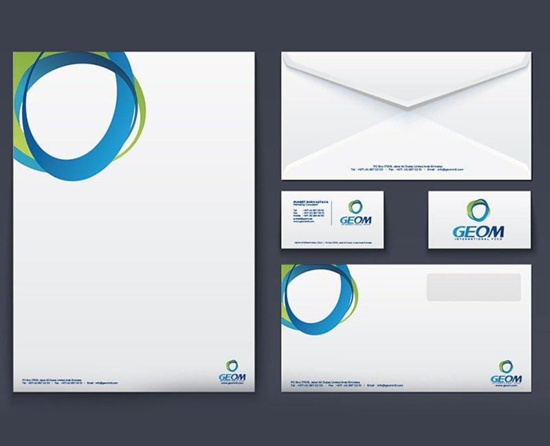 Corporate Envelope Design