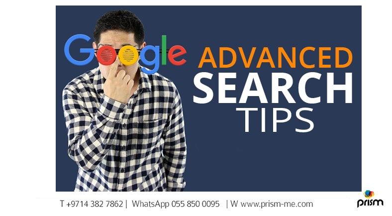 How to use Google Advance Search