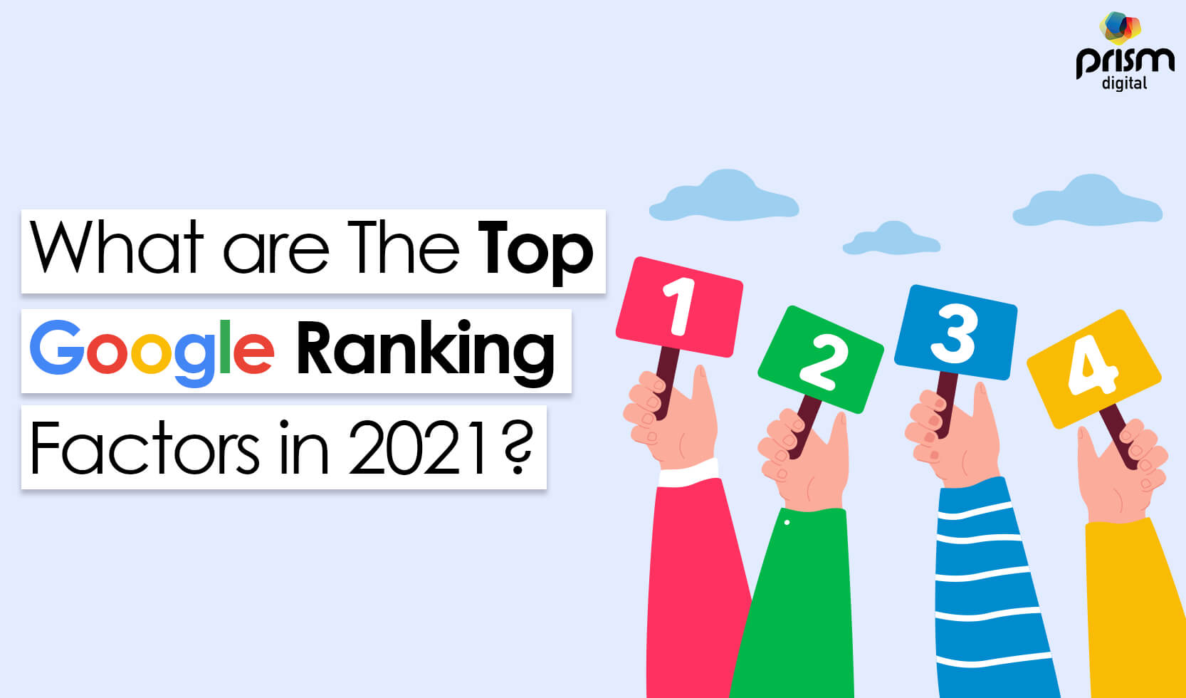 What are the top Google Ranking Factors in 2021