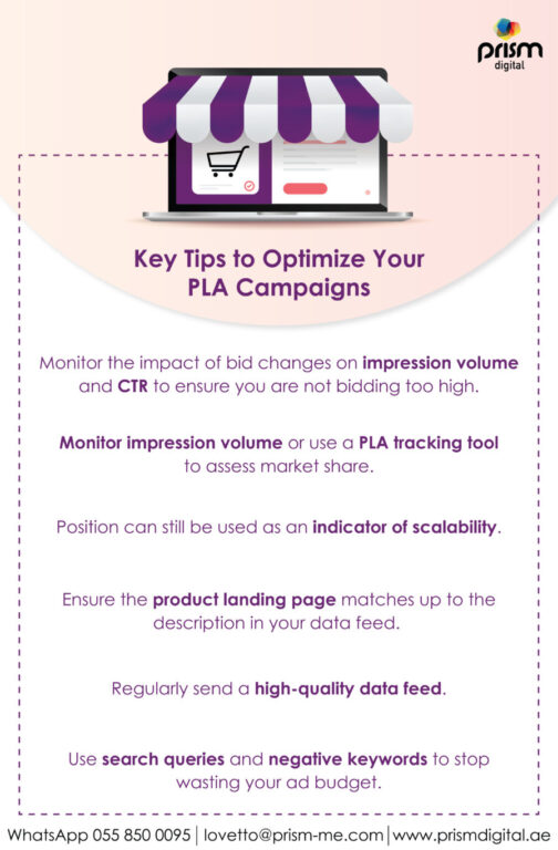 Key Tips to Optimize Your PLA Campaigns